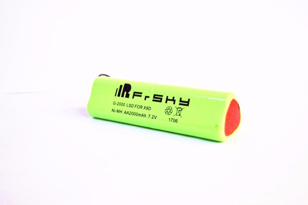 Высокое Качество 7,2 в 2000 мАч батарея для FrSky taranis X9D PLUS RC передатчик батарея дистанционного управления