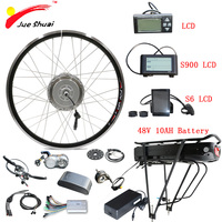 BAFANG 8fun Electric Bike Kit 48V 500W Front Motor Wheel 26''700C E bike Kit Electric Bicycle Conversion Kit BPM electric motor