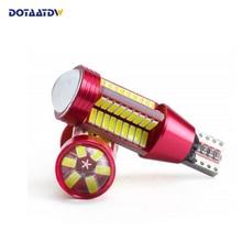 2x CREE чип 4014 78SMD T15 W16W 921 912 светодиодный Резервное копирование свет 12 В 24 В Автомобиль Задние лампы резервного копирования сигнал поворота света тормозной фонарь