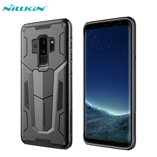 buy online 03b3a e7544 US $9.67 12% OFF|For Samsung Galaxy S9 Case Samsung S9 Plus Cover Nillkin  Defender 2 Ultra Slim Armor TPU+PC Phone Back Cases For Galaxy S9-in Fitted  ...