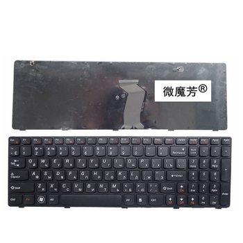 Rosja nowa klawiatura do lenovo G580 Z580A G585 Z585 G590 Z580 RU klawiaturze laptopa tanie i dobre opinie Russian Standard NoEnName_Null