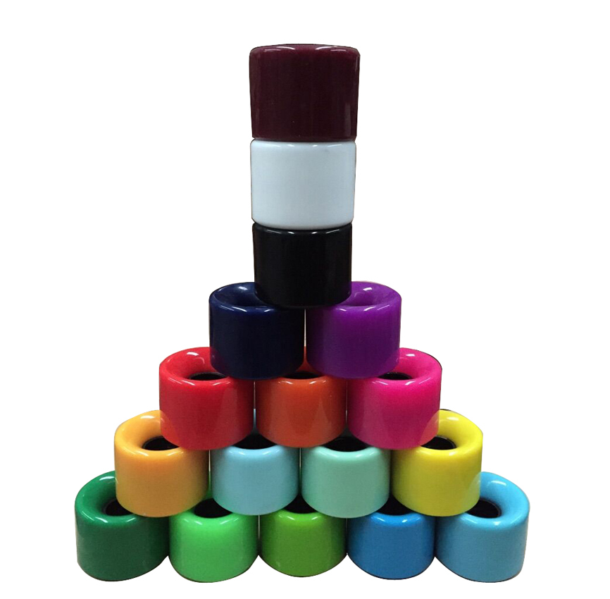 60x45mm 82A Skateboard Wheels 4pcs/set 9 colours High-strength Longboard skateboard wheels