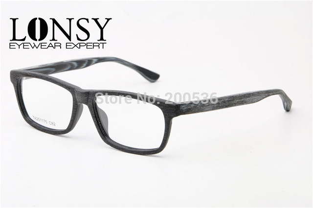 2015 Fashion Imitation Wood Optical Glasses Frame Eyeglasses Frames ...