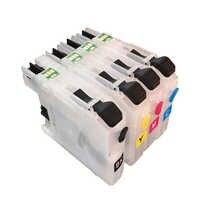 LC225 cartucho de tinta rellenable para Hermano LC225 LC227 hermano MFC J4420DW J4620DW J4625DW J5320DW J5620DW J5625DW J5720DW