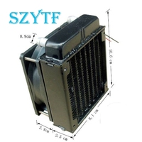 80 Radiator Computer CPU Cooling Water Cooled Radiator Fan Cooling System Devices