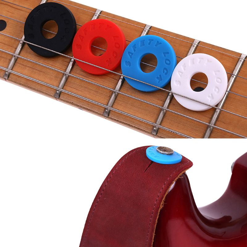 1PC Bass Belt Musical Instrument Guitar Strap Locks Blocks