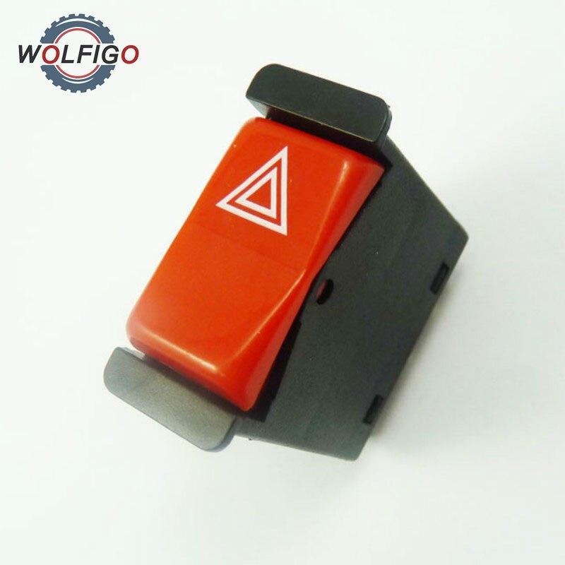 Warning Emergency Hazard Light Switch 0008209010 for Mercedes-Benz 350SD 190E 190D 380SL 350SDL 500SEC 380SEC 500SEL