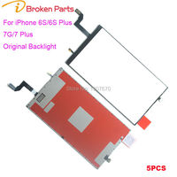 100 Original Back Light Replacement For IPhone 7 6S 4 7 Plus 5 5 LCD Display