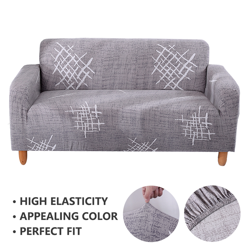 Forcheer Sofa Cover For Living Room Couch Cover Funda Sofa Stretch Protective Cover Sofa Stripe Printing