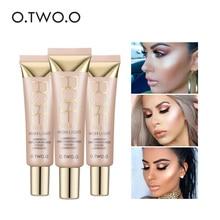 O.TWO.O Shimmer Highlighter Cream 25ml Primer Base Contouring Concealer Highlight Whitening Moisturizer Oil-control Cosmetics