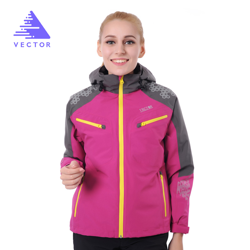 Outdoor Jacket Women Windproof Waterproof Jacket Female Camping Hiking Jackets Windstopper Windbreaker 60007