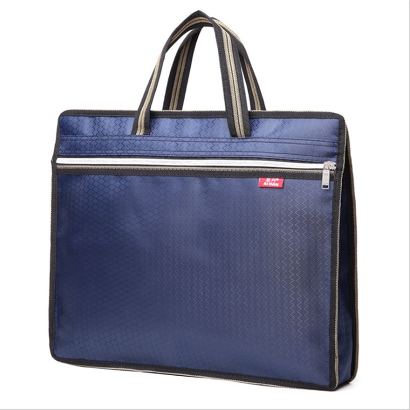 Men's Bag Briefcase Business Waterproof Pouch Office Bags For Men Computer Laptop Portable File Oxford Man Handbag