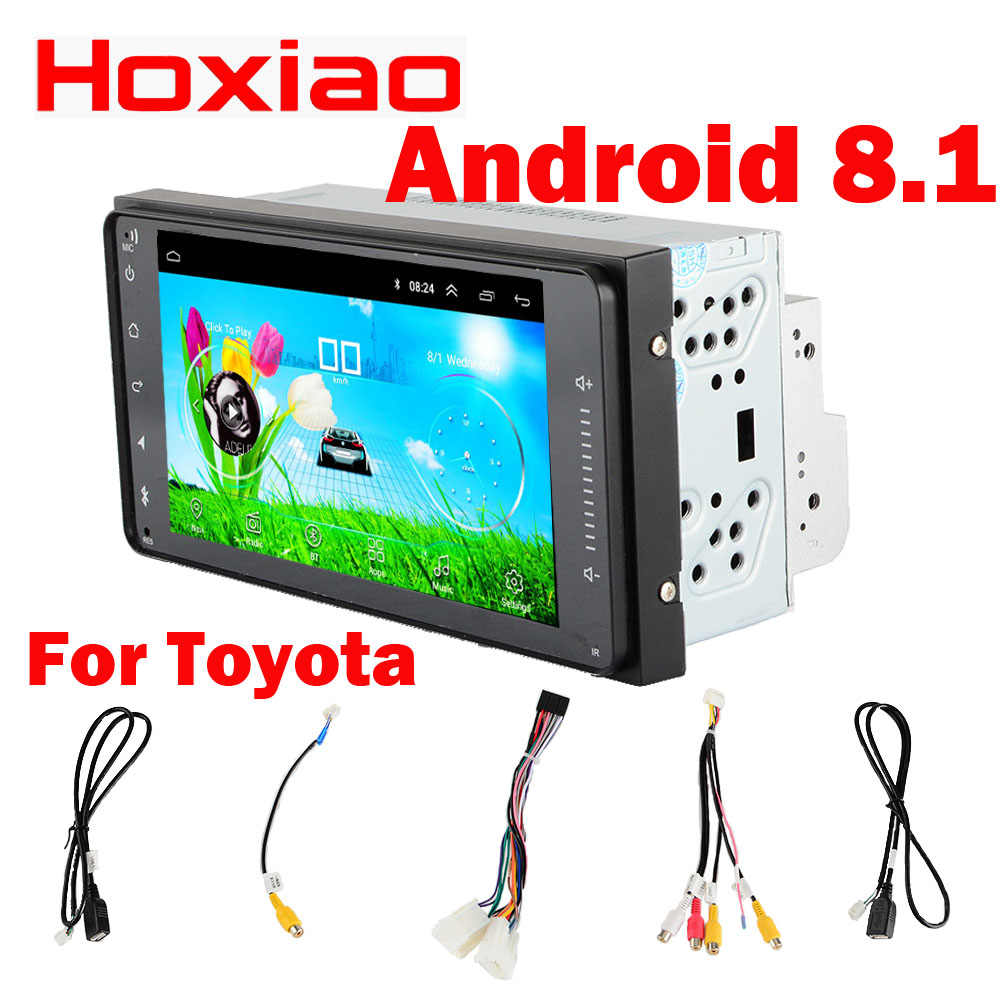 Auto Android dvd-speler voor TOYOTA COROLLA Camry Land Cruiser HILUX PRADO RAV4 7 inch gps navigatie WIFI RDS 200 X 100mm