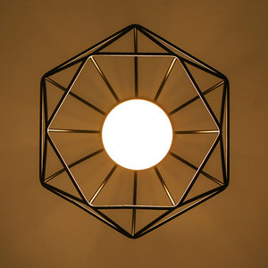 Image 4 - リビングルーム凹型天井照明 E27 北欧のミニマルパーラーシャンデリア夢のような HangLamp 寝室レトロ吊りランプ