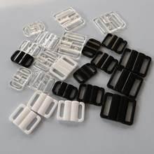 9dbedab15 Alça do Sutiã de Biquíni plástico Fecho fivelas de Fechamento de Costura  Clipe Swimwear Lingerie Gancho 25 20 14 10mm mm mm mm p.