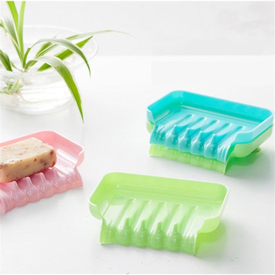 New Arrival Kitchen Bathroom Accessories Soap Box Bathroom Draining Soap Box Kitchen Sink Sponge Drainage Soap Dish