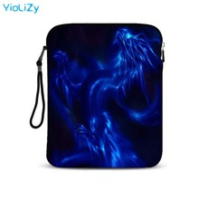 waterproof 10.1 9.7 inch laptop Protective case notebook sleeve Dragon print tablet bag pouch Cover For iPad Air pro 2 IP-5772