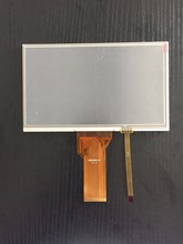 New 7inch TFT LCD screen display panel with resistive touch panel 400 nits brightness 165X100 mm