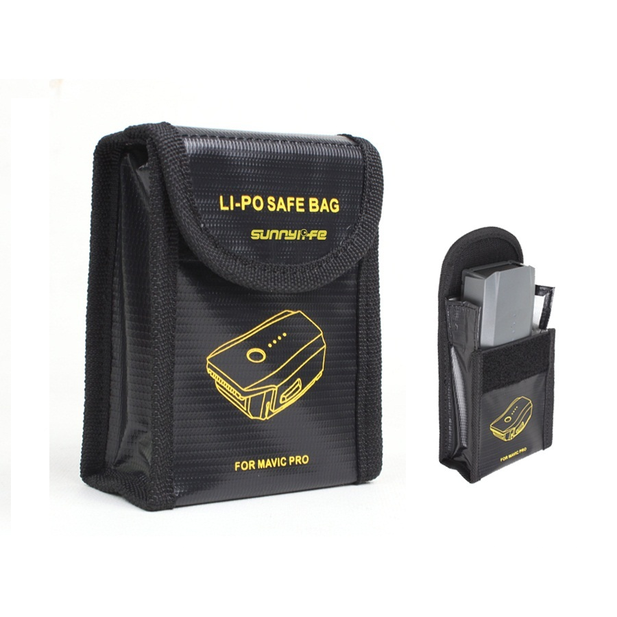Lipo Battery Safe Bag Fire Resistant Charging Fire