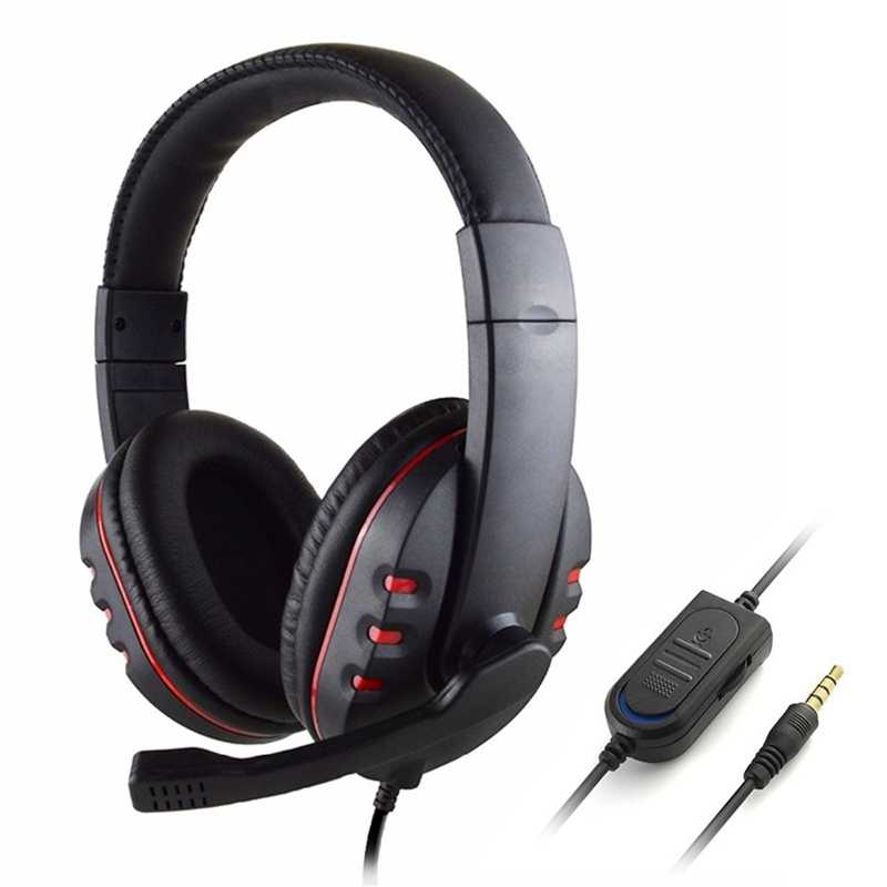 PS4 سماعة الألعاب نتوء (غطاء) السلكية PC سماعات ستيريو سماعة رأس بمايكروفون ل جديد Xbox One/لوحي محمول ألعاب