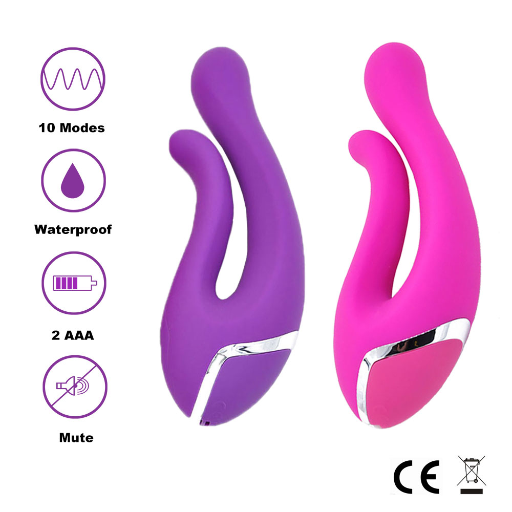 XFMAX Passion Dream <font><b>fingers</b></font> <font><b>Silicone</b></font> <font><b>Vibrator</b></font> 10 vibration mode Sex Toys <font><b>For</b></font> <font><b>Women</b></font>,SEX Products Rose and purple