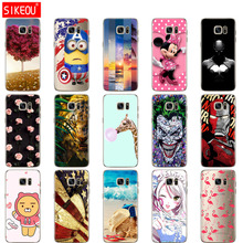 SIKEOU soft Silicone TPU case For Samsung Galaxy S7