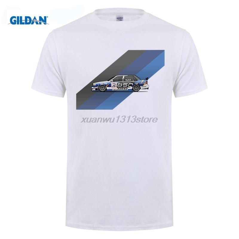 GILDAN Spiercar Men T-shirt Turbo Tops Mens Short Sleeve Volvo Wagon 850 Car T Shirts Summer O-Neck T-Shirt for Male Clothing