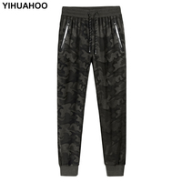 YIHUAHOO Plus Size 6XL 7XL 8XL Spring Jogger Pants Men Slim Fit Camouflage Track Pants Brand Trousers Male Sweatpants XYN 9919