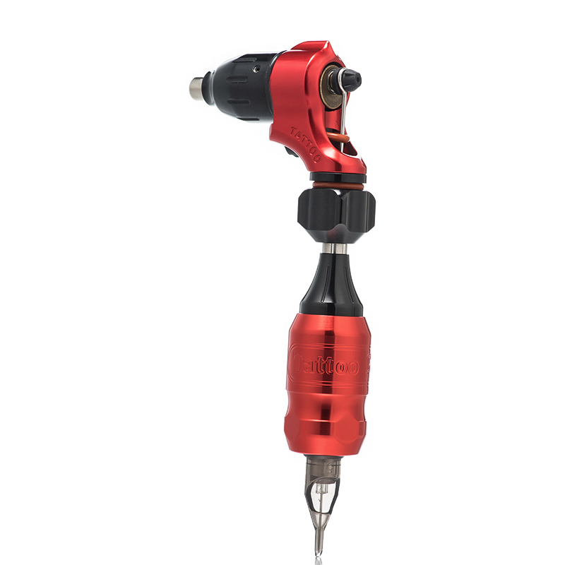 все цены на 2018 lastest Tattoo Machine Set Adjustable Stroke Direct 2 Drive Swiss Motor Rotary Tattoo Machine RCA Cord Grips for Power онлайн