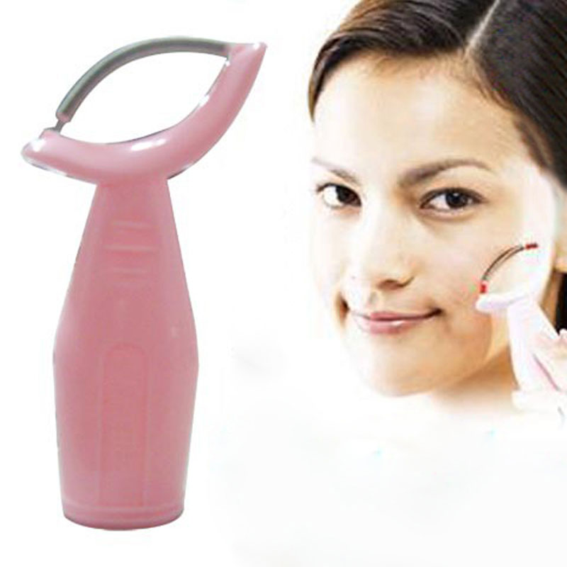 Face Epilator For Women Professional Face Hair Removal Plastic Handle Face Smooth Epilator Rolled Spring Design Beauty Tools