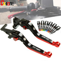 For Honda CBR1000RR FIREBLADE/SP CBR1100XX BLACKBIRD CBR125R CBR150R CBR 1000RR 1100XX 125RV 150R Adjustable Clutch Brake Levers