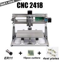 Cnc 2418 с ER11, гравировальный станок с ЧПУ, Pcb фрезерный станок, резьба по дереву машины, мини ЧПУ, cnc2418, самые передовые игрушки
