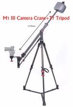IFOOTAGE Skilled Carbon Fiber mini Digital camera Jib Crane M1 III + IFOOTAGE Wild Bull T7 Carbon Fiber Legs Tripod Stand Equipment