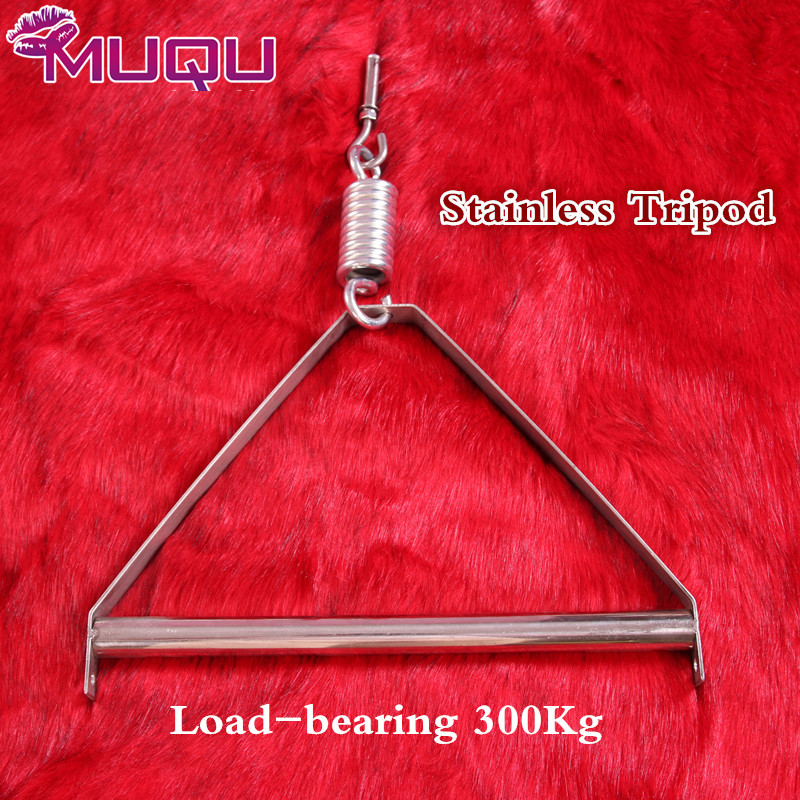 love swing accessory strong stainless steel tripod with spring Expansion screws Sex Swing Tripod sex furniture adult games sleep professor spring love