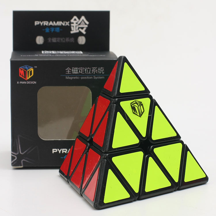 Newest QiYi Mofangge Magnetic Pyraminx Cube Puzzle Speed Puzzle Twist Puzzle Educational Toys Drop Shipping