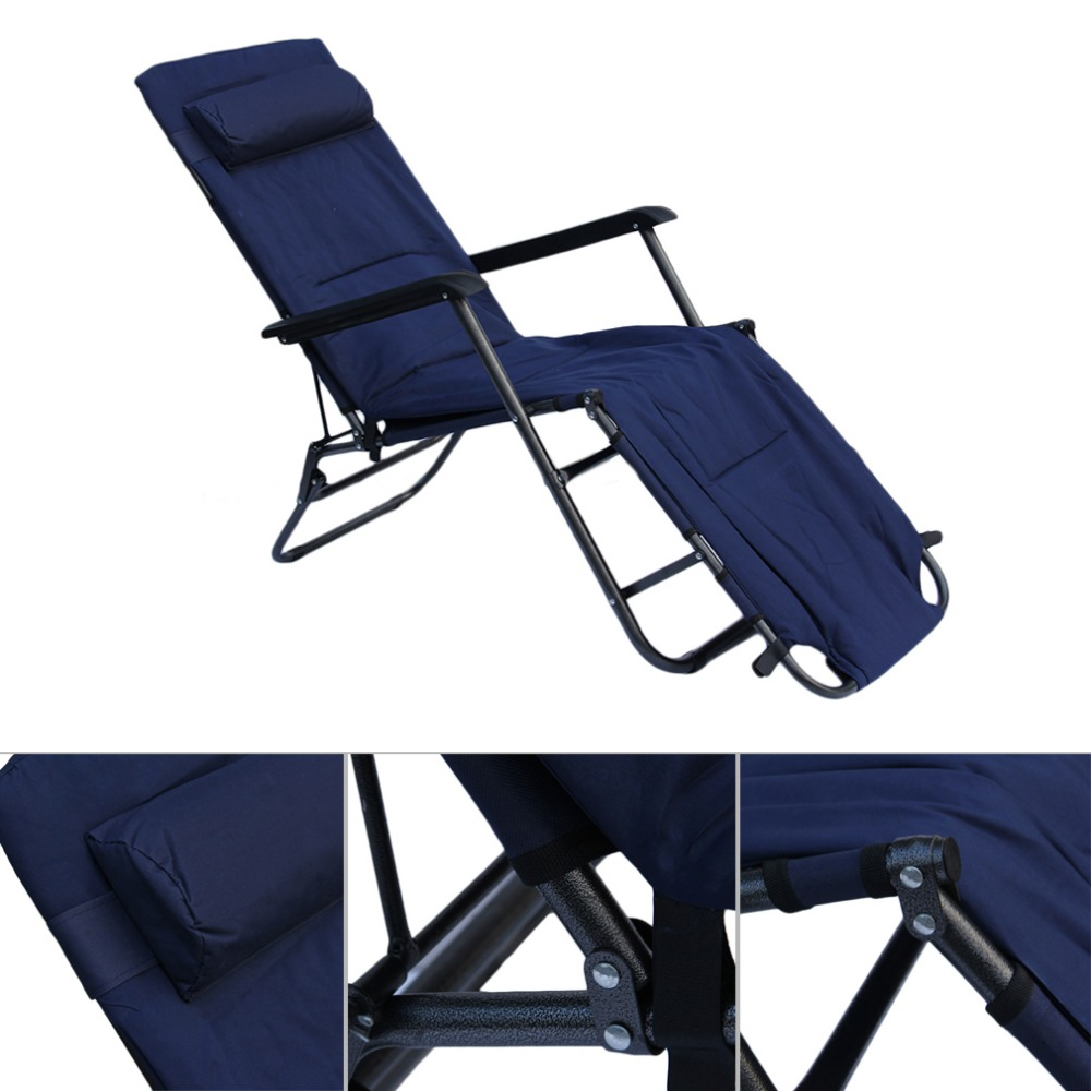 Foldable Bed Chair Us 153 66 Multifunctional 178 60 88cm Home Garden Recliners Chair Foldable Super Lunch Take Rest Bed Chair In Fishing Chairs From Sports