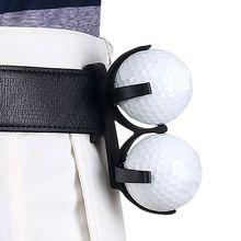 Golf Ball Holder Rotatable Plastic Waist Clip Organizer Golf