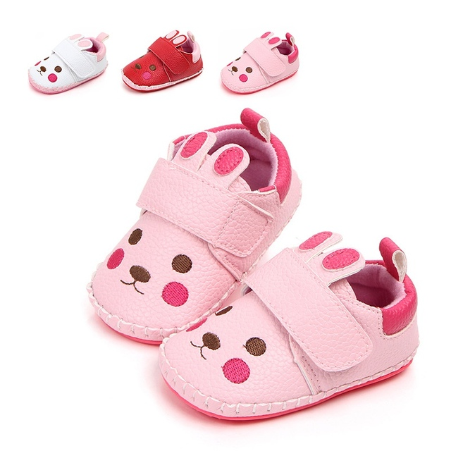 9a2ed7aa4c8 First Walkers Autumn Cute Baby Girl Soft Soled Cartoon Shoes Infant Walking  Dress Cradle Shoe