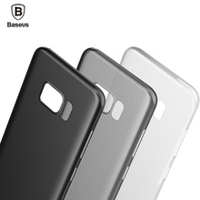 BASEUS Brand 0.4mm Slim & Light PP Back Case For Samsung Galaxy S8 Plus / For Galaxy S8 Yellowing-Resistant Phone Cases