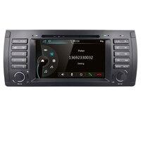 Car multimedia player For BMW E53 X5 E39 Car Stereo DVD Player 7 Radio GPS Navigation Bluetooth 1080P USB RDS AM/FM Mirror Link