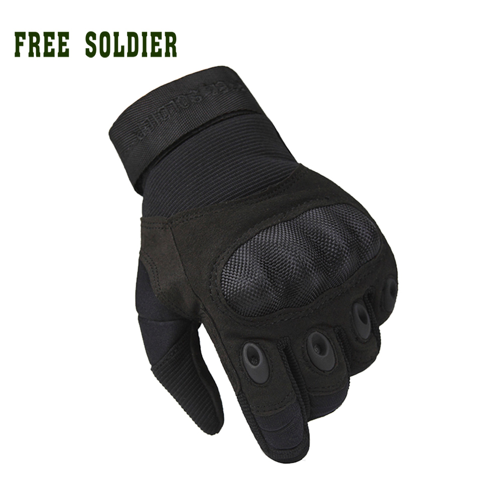 free soldier outdoor sports men 39 s full gloves for hiking. Black Bedroom Furniture Sets. Home Design Ideas
