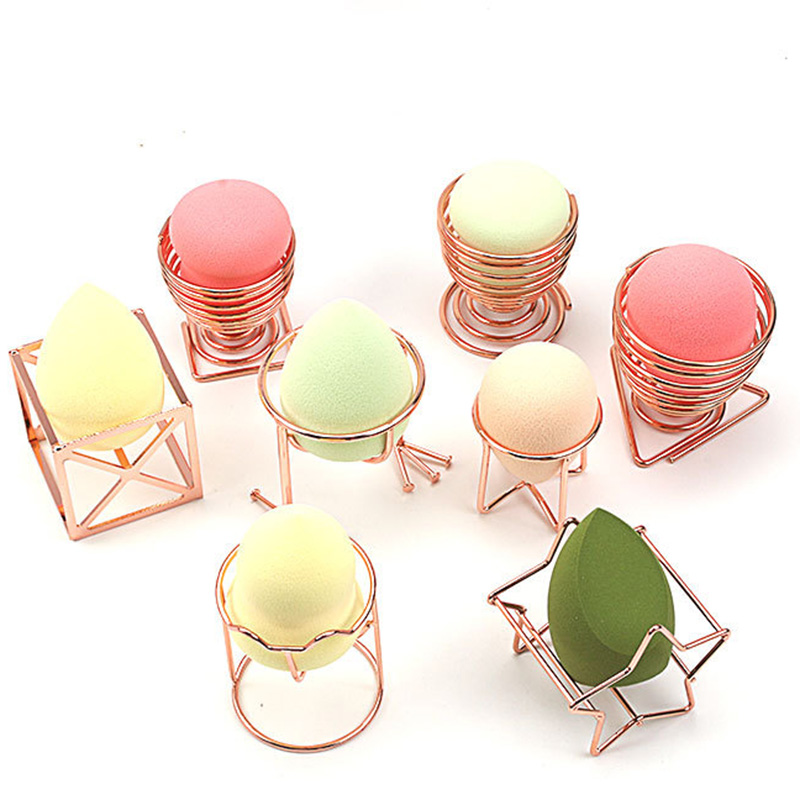 OUSSIRRO Mini Hanger Beauty Makeup Powder Puff Blender