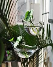 Large Glass Flower Vase Hydroponic Flower Pots Hydroponic Vase Home Decoration Bird Glass Hanging Baskets For Home Decoration