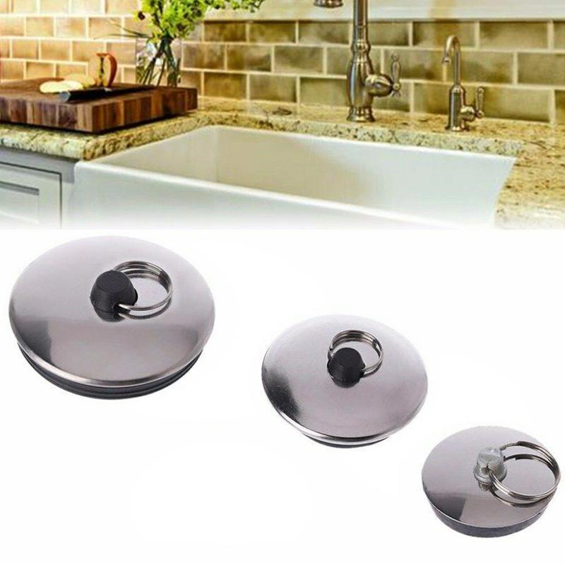 Kitchen Drain Plug Water Stopper Kitchen Bathroom Bath Tub Sink Basin Drainage Bathroom Sink Bathtub Drains Bathroom Accessories