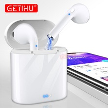 Mini Bluetooth Earphone Headphones For iPhone XS Max Samsung Wireless Headphone Headset in Ear Earph