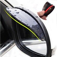 Car Accessories Rearview Mirror Rain eyebrow Rain Cover for KIA RIO Ford Focus Hyundai IX35 Solaris Mitsubishi ASX Outlander