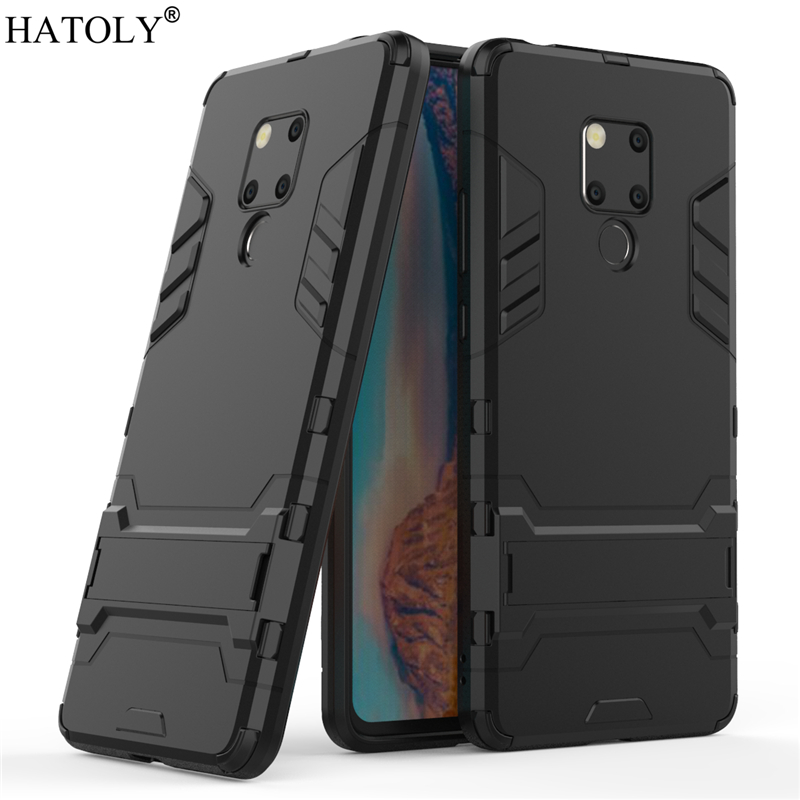 Cover Huawei Mate 20X Case Rubber Robot Armor Shell Slim