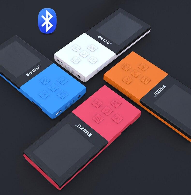 New Original RUIZU X18 Bluetooth Sport MP3 Player with latest versionBluetooth 4.0 mp3 плеер ruizu x05