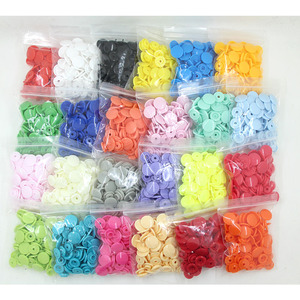 Image 1 - 20 Sets KAM T5 12MM Round Plastic Snaps Button Fasteners Quilt Cover Sheet Button Garment Accessories For Baby Clothes Clips