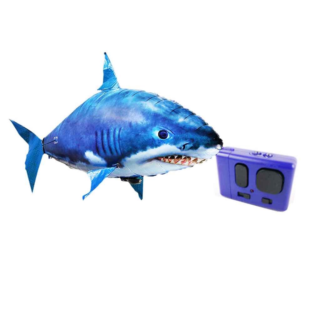 Control remoto Electronic Flying Clownfish Shark Helio Globo para - Juguetes con control remoto